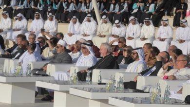 """Photo of سيف بن زايد يشهد مصادقة قادة الأديان على """"بيان أبوظبي"""""""