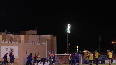 Photo of الفيحاء يواصل تمارينه على ملعب النادي