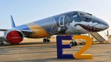 Photo of تصميم فريد لطائرة ركاب على شكل سمكة قرش