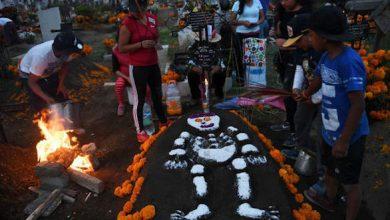 Photo of احتفالات حاشدة في المكسيك بيوم الموتى العالمي