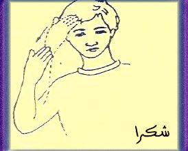 Photo of الكلمات الشائعة للغة الأشارة , كلمات شكر بلغة الأشارة
