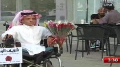 Photo of صور شريف الورد اشهر بائع ورد في شوارع الرياض
