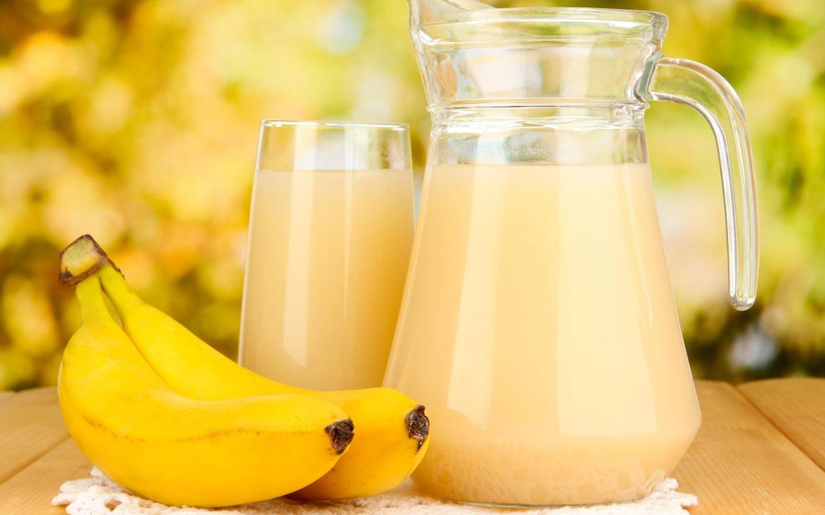 فوائد عصير الموز