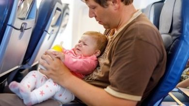 Photo of نصائح لإسكات بكاء طفلك على متن الطائرة