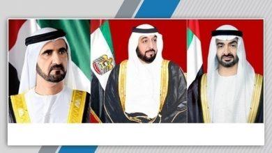 Photo of رئيس الدولة ونائبه ومحمد بن زايد يهنئون ملوك ورؤساء وأمراء الدول بالعام الجديد