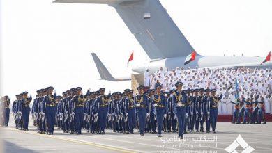 Photo of بالصور: محمد بن راشد يرعى حفل تخريج الدفعة الـ48 من كلية خليفة بن زايد الجوية