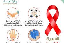 """Photo of """"الصحة"""" : 4 حالات لا ينتقل عبرها فيروس """"الإيدز"""""""