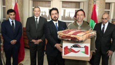Photo of سفارة الدولة توزع مساعدات على الفئات المتعففة في المناطق الجبلية بالمغرب