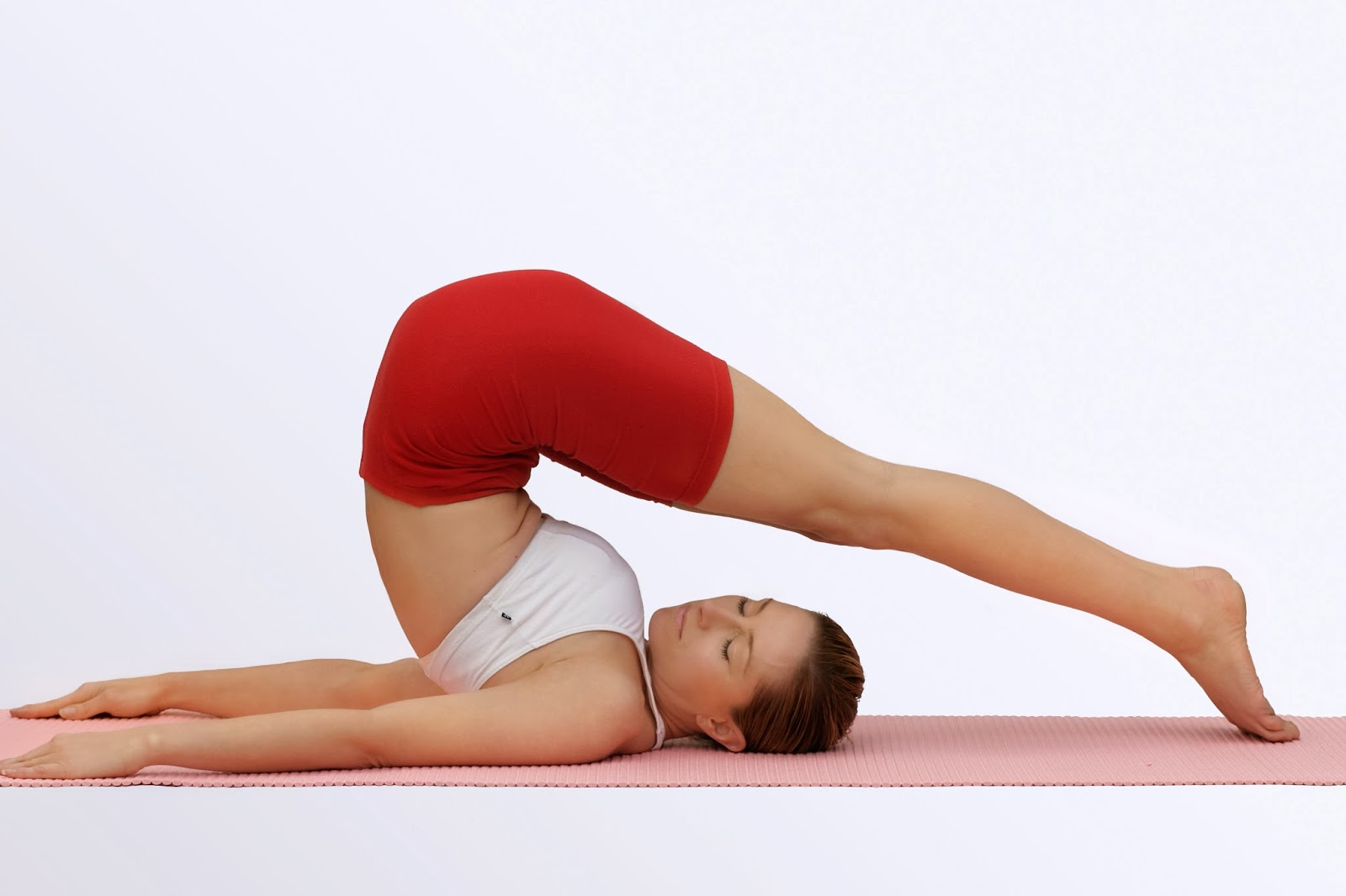 Yoga back stretch