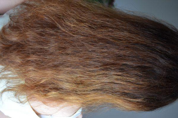 علاج الشعرالجاف الناشف