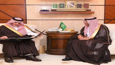 Photo of أمير الشرقية يطلع على تقرير فرع وزارة التجارة والاستثمار