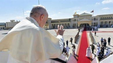 Photo of البابا يأمل أن تعزز زيارته للمنطقة العربية العلاقات الإسلامية المسيحية