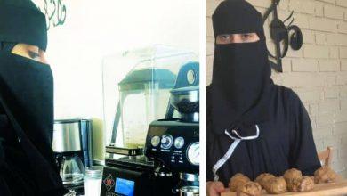 Photo of صور سعوديات يقتحمن مجال العمل في الكافيهات