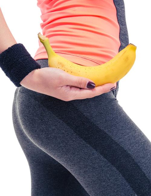 الموز لكبير الأرداف