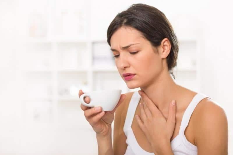 كيف التخلص السريع من التهاب الحلق