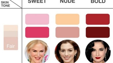 Photo of كيف اختار لون الروج المناسب لبشرتي بالصور , صور لون الروج المناسب للبشرة
