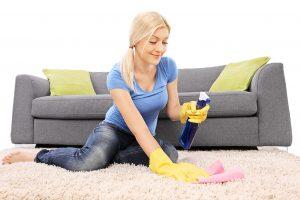 تنظيف المنزل