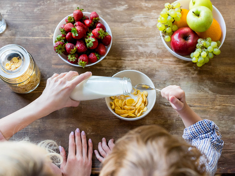فطور صحي متكامل للأطفال