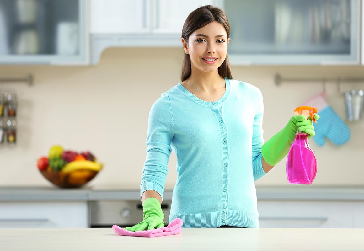 خطوات تنظيف البيت
