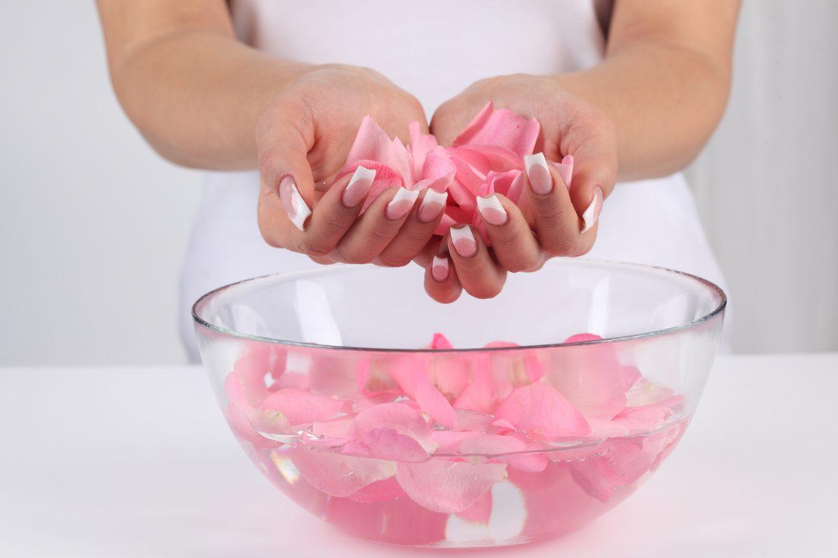 فوائد ماء الورد للوجه مع النشا
