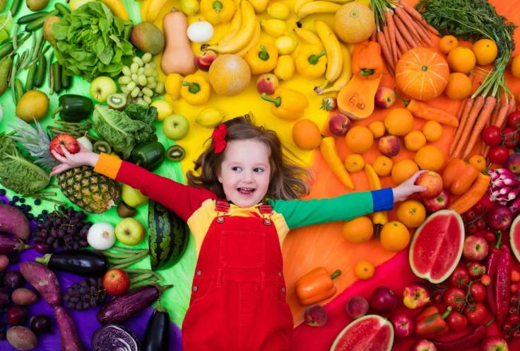 الخضروات والفواكه وتقوية مناعة الاطفال