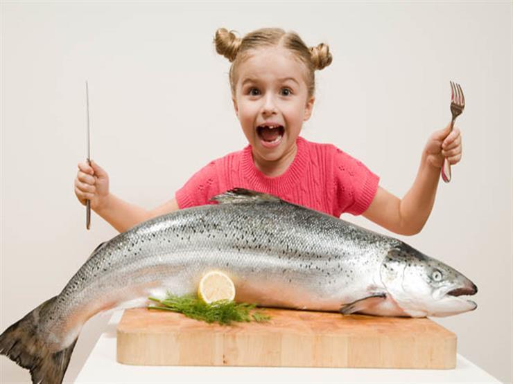 الاسماك وتقوية مناعة الاطفال