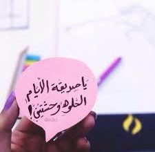 Photo of كلمات جميلة لصديقتي