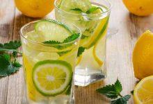 Photo of الماء والليمون على الريق للتنحيف