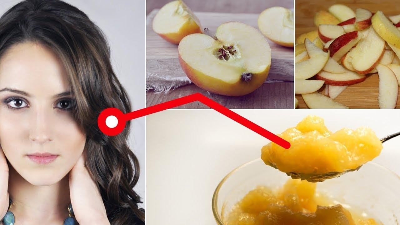 فوائد التفاح للشعر الجاف