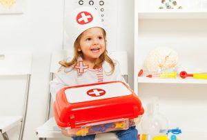 إسعافات أولية للأطفال