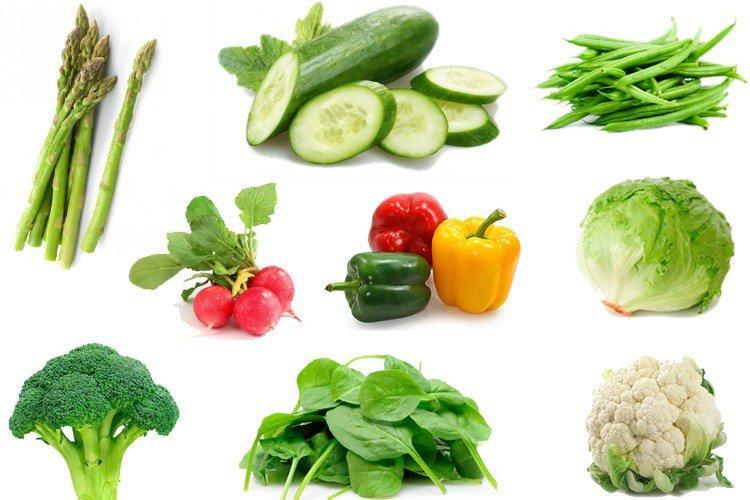 8 خضروات تساعد على حرق دهون البطن والخصر