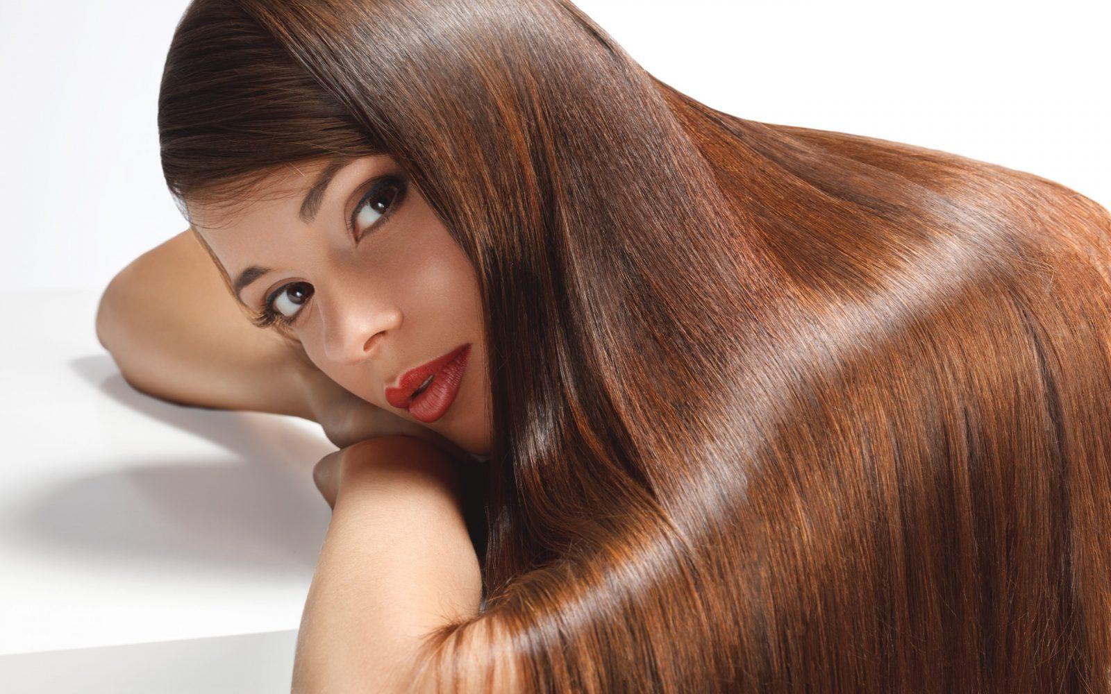 زيادة لمعان الشعر