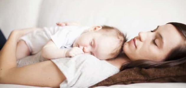 أسباب عدم نوم الرضيع