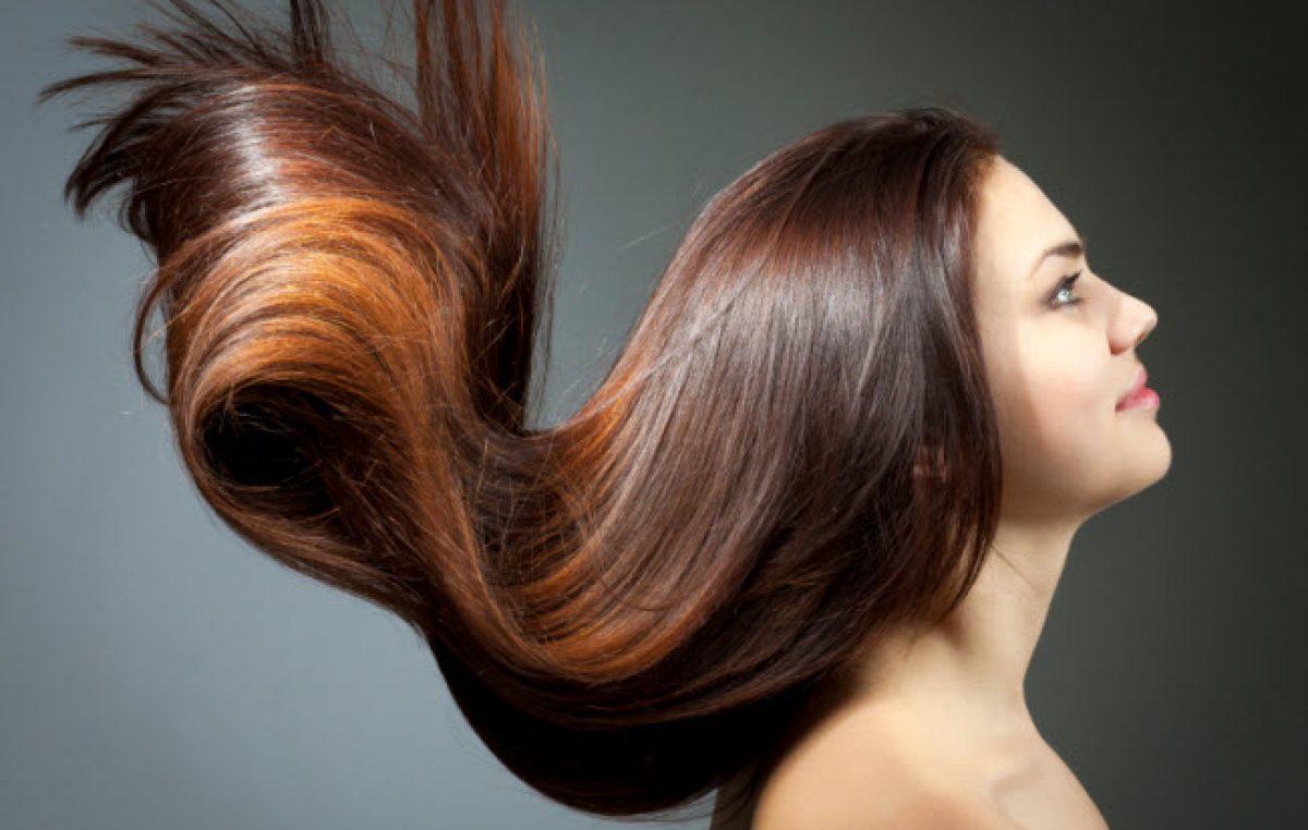 وصفات لمعان الشعر