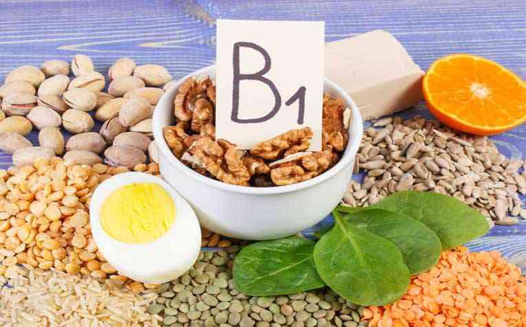 مصادر فيتامين ب