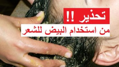 Photo of اضرار البيض على الشعر وطرق الاستفادة بدون مشاكل