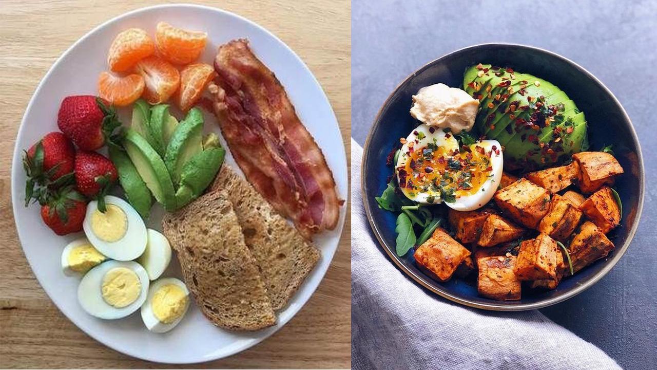 الفطور الصحي في الصباح