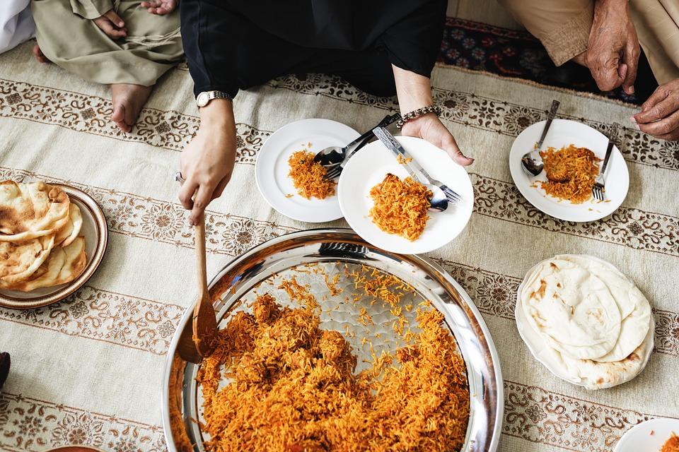 اداب الطعام في السنة النبوية