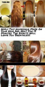 17 أسرع خلطة منزلية لتنعيم الشعر