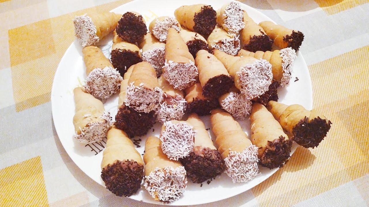 طريقة صنع حلوى الكورني