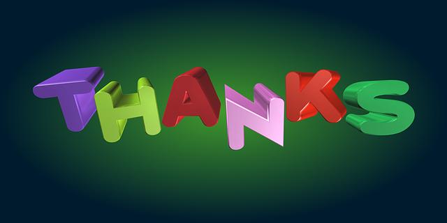 كلمات شكر وتقدير