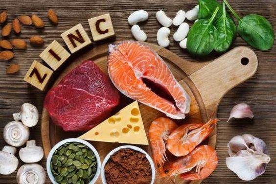 اطعمة صحية غنية بالزنك