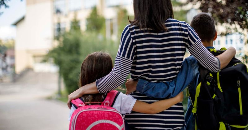 التوتر على الطفل من المدرسة