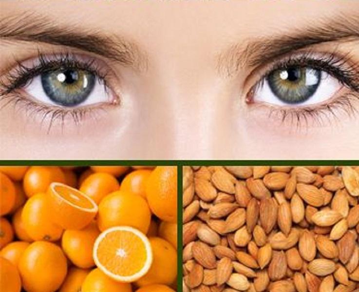 اطعمة للحفاظ على العينين