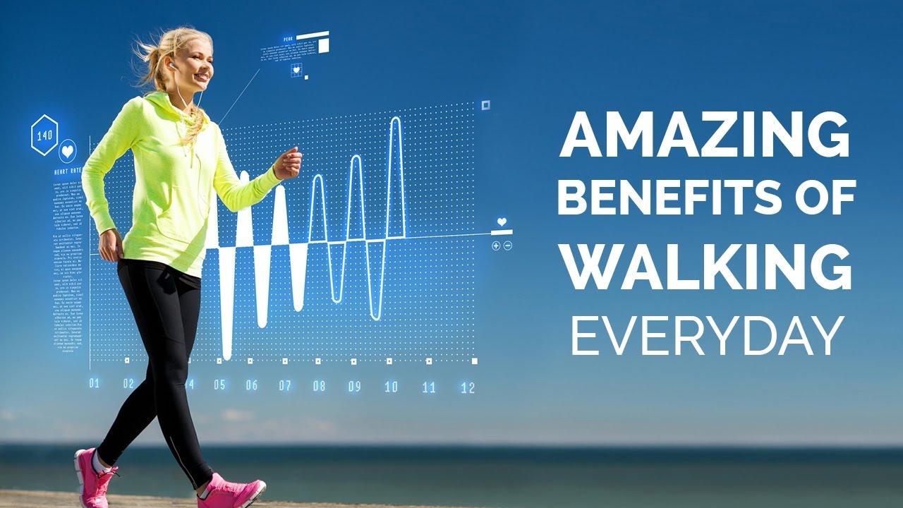 فوائد المشي للصحة