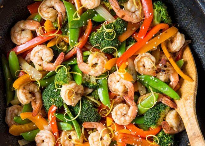 وصفات عشاء صحية سريعة المفعول