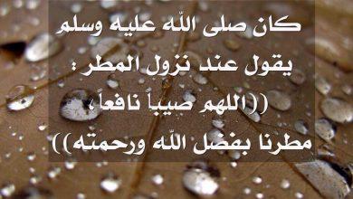 Photo of ادعية المطر