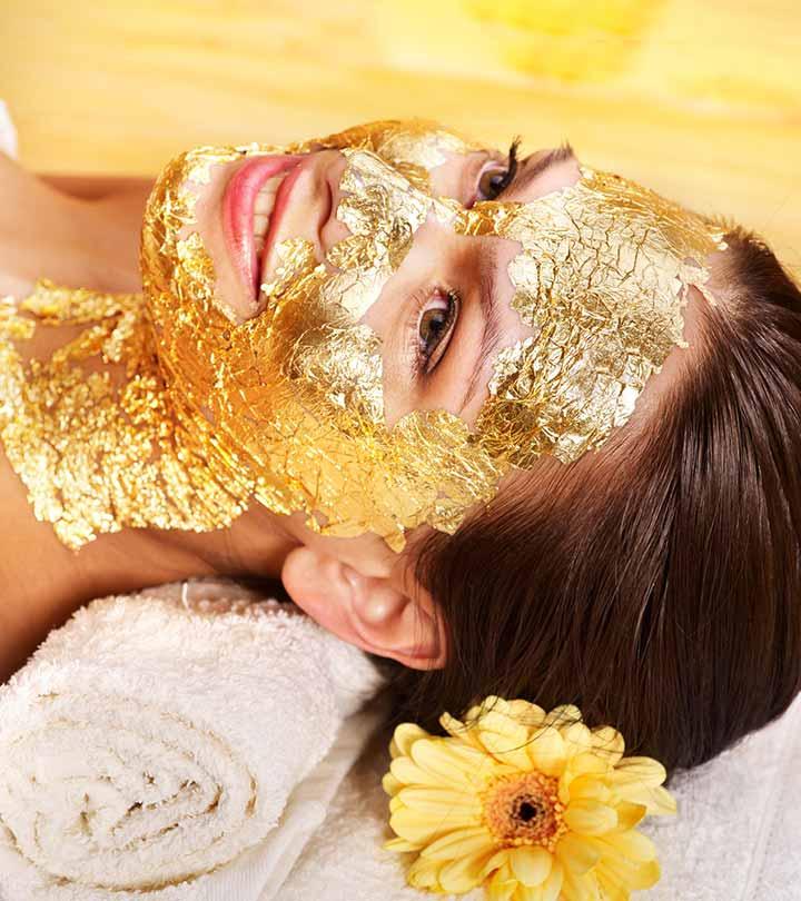 قناع الذهب gold mask for skin