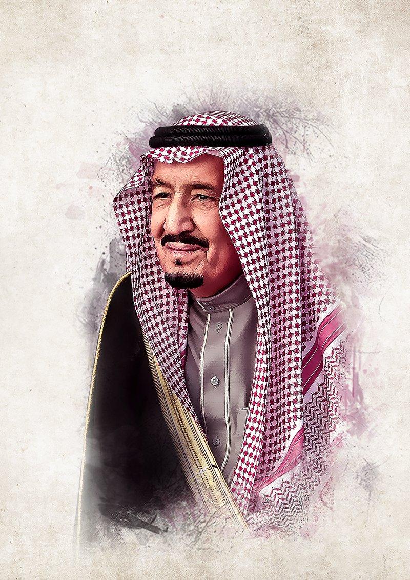 صورة الملك سلمان