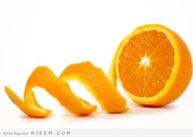 فوائد قشر البرتقال